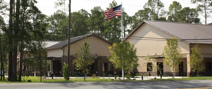 photo of the Alachua County Senior Recreation Center